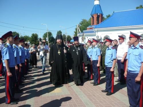 27 августа в Шахты прибыл епископ Шахтинский и Миллеровский Игнатий