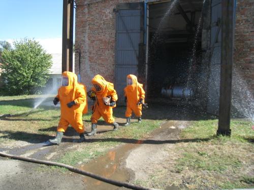 Проведены учения по устранению чрезвычайной ситуации на водоканале Новошахтинска
