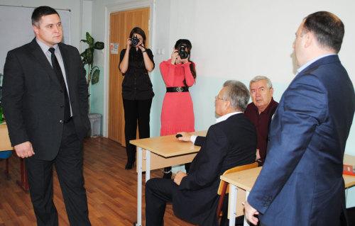 Денис Станиславов встретился с шахтинскими студентами