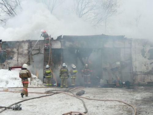 Короткое замыкание привело к пожару на улице Маяковского