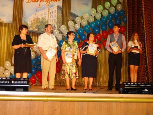 Шахтинский политех принимал поздравления c 55-летним юбилеем!