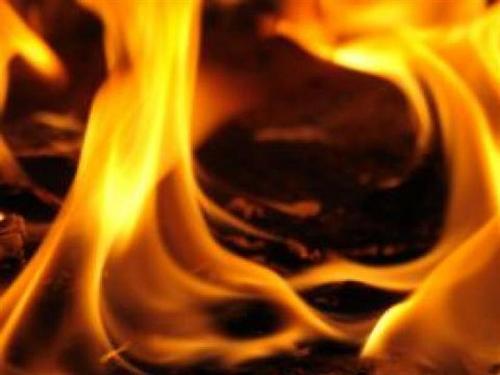 Хуторянин пострадал при пожаре