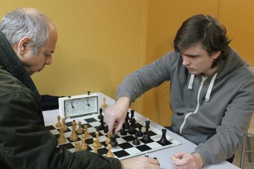 Шахматисты провели Новогодний турнир