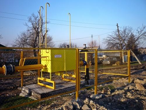 На Власовке первые семь домов уже подключены к газопроводу