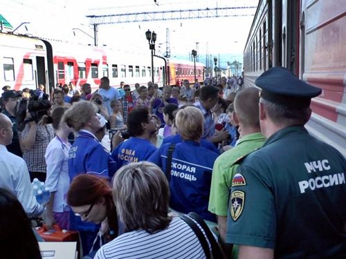 Тысячи украинских беженцев покидают Ростовскую область