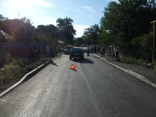 Внезапно выбежавший на дорогу ребенок пострадал в ДТП