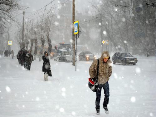 Последний день ноября преподнес шахтинцам по-настоящему зимний сюрприз