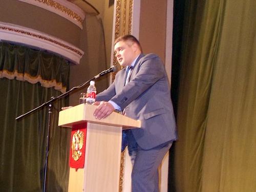 Мэр города Шахты отчитался за 2014 год