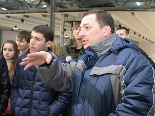 """""""Евродон"""" пригласил на экскурсию студентов шахтинского политеха"""
