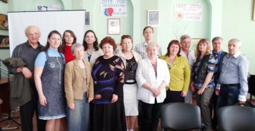 Литературный праздник в библиотеке им. А.С.Пушкина