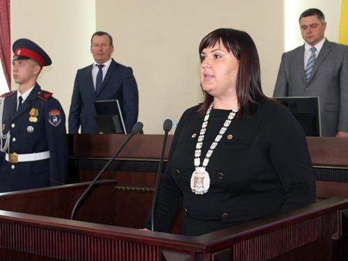 Ирина Жукова избрана председателем городской Думы - главой города Шахты