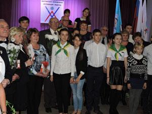 Шахтинские школьники начали эстафету в честь предстоящего 100-летия ВЛКСМ