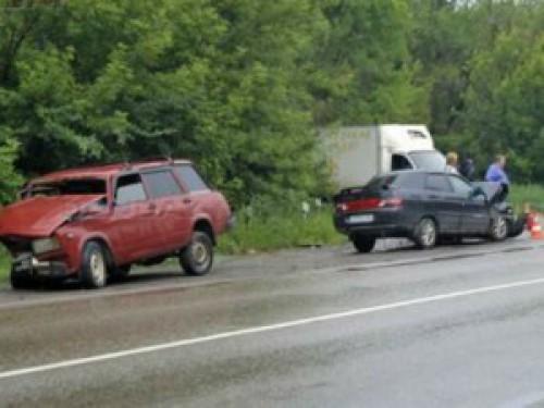 На трассе Шахты – Новочеркасск произошла авария