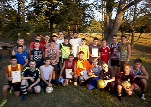 Футбольные страсти кипели в посёлке Фрунзе