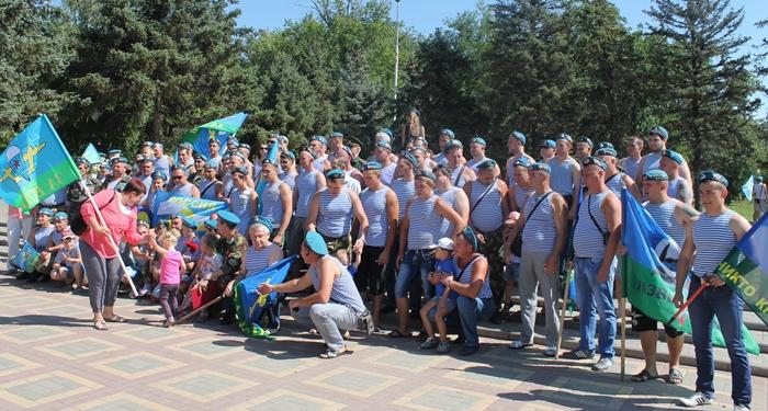 Шахтинские десантники собираются с размахом отметить свой праздник
