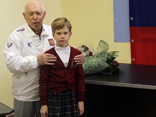 Виктор Дорохин принимал поздравления с 80-летним юбилеем