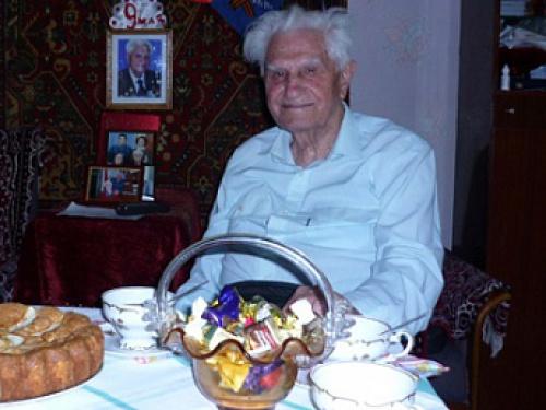 Умер Почетный житель города Шахты Петр Федосеевич Диденко