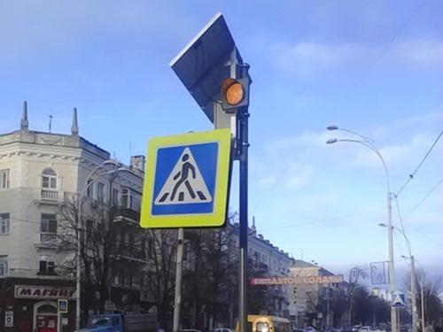"""В Шахтах появились """"школьные светофоры"""""""