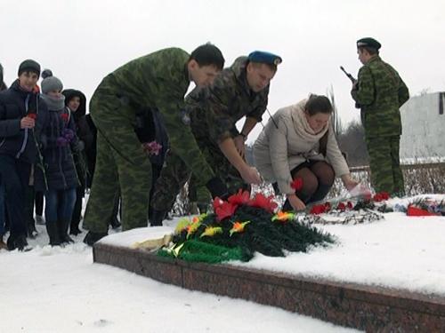 Митинг памяти состоялся в поселке Красина