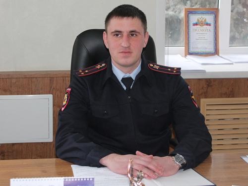 Старший лейтенант полиции Даниил Тимофеев встречает Новый год в новой должности