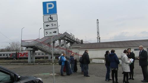 Станция Шахтная для инвалидов плохо оборудована