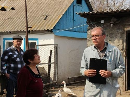 """Заражённую птицу уничтожили на Маркинской птицефабрике и участке подращивания """"Евродона"""""""