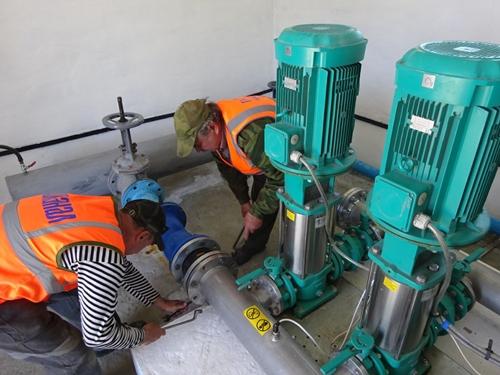 Новая ВНС позволила улучшить водоснабжение на Красина