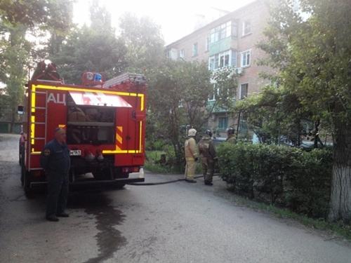 Два человека погибли при пожаре на улице Садовой
