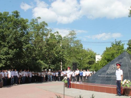 В Шахтах поминали погибших шахтёров