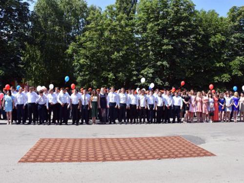 Студенты-спасатели получили дипломы
