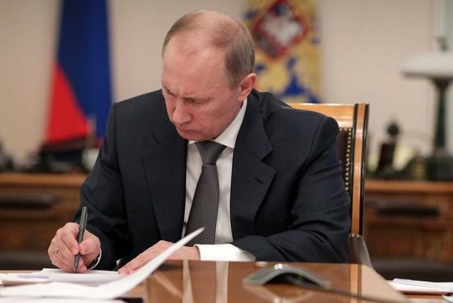 Путин уволил начальника ГУ МВД по Ростовской области