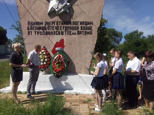 О Великой Отечественной войне вспоминали в шахтинских посёлках