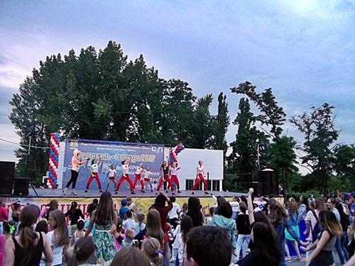 Второй этап молодёжного фестиваля-конкурса прошёл в посёлке Фрунзе