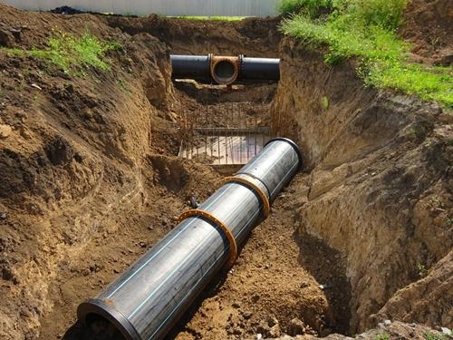 Готовится к пуску новый участок водовода