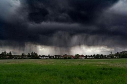 Предыдущее штормовое предупреждение в Шахтах не сбылось. МЧС прислало новое