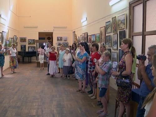 Художники из разных городов Ростовской области открыли выставку