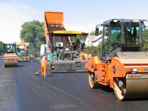 Завершили ремонт дороги на въезде в город со стороны Мелиховской