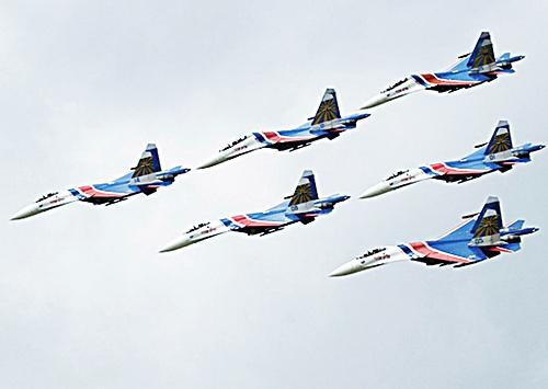 В выходные состоится воздушный парад и авиашоу