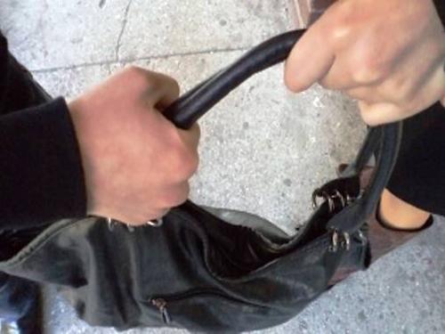 Вырвал из рук сумку и был таков