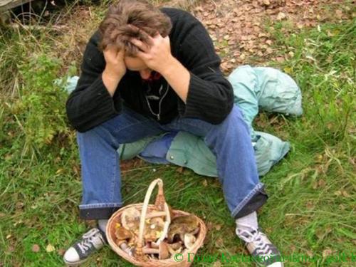 От отравления грибами погибли двое молодых людей