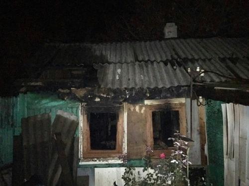 При пожаре на Культурном Уголке погиб хозяин дома