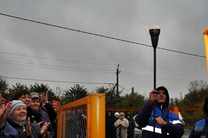 На северо-востоке Шахт торжественно запустили новую ветку газопровода