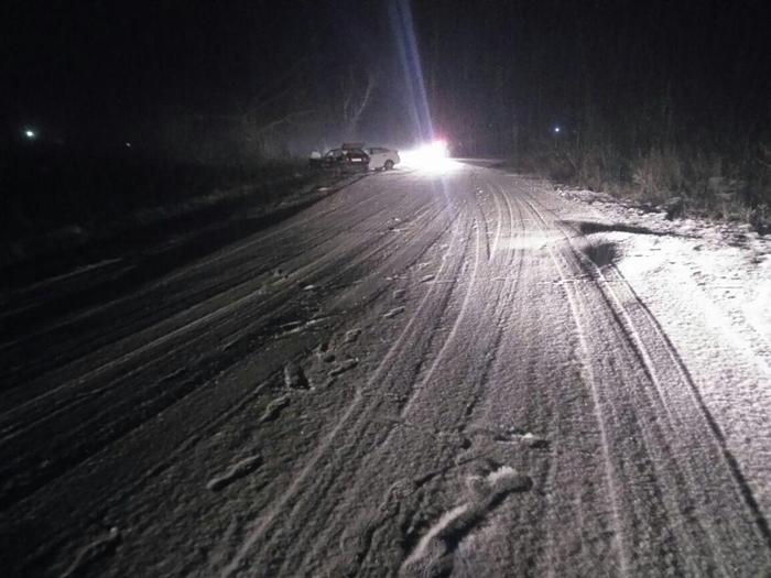Снегопад стал причиной аварии