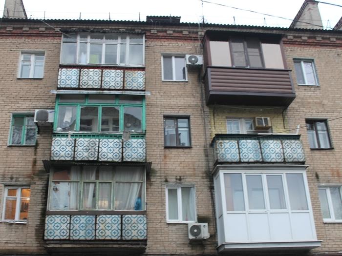 Шахтинские балконы решили оставить в покое. Пока...