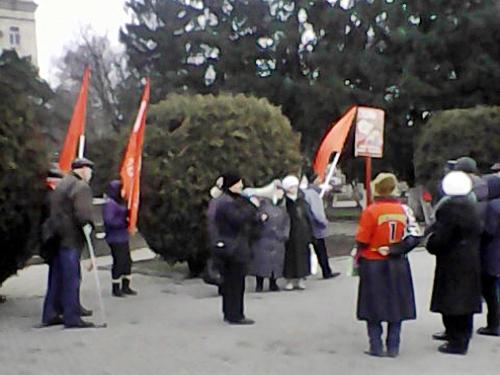 В Шахтах отметили день рождения Сталина