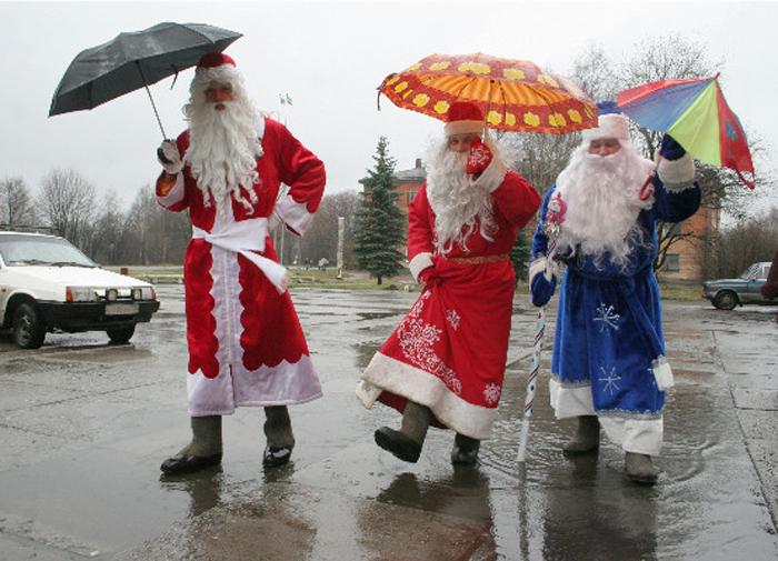 На Новый год снега и не ждите