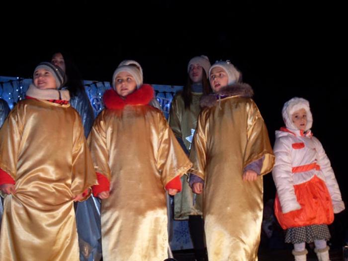Сегодня на Соборной площади пройдут рождественские гулянья