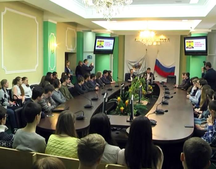 """В """"Политехе"""" обсудили предстоящий Год добровольца"""