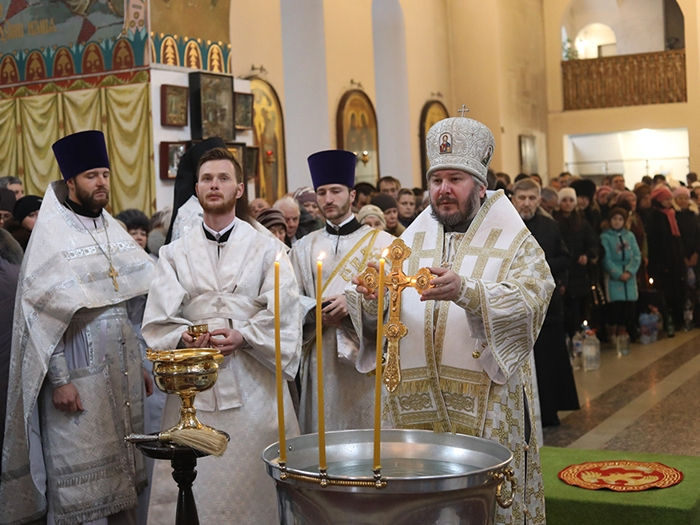 В Шахтах празднуют Крещение