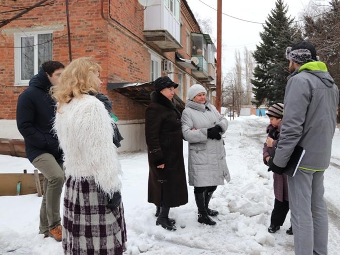 Шахтинцы обсуждают возможности благоустройства своих дворов